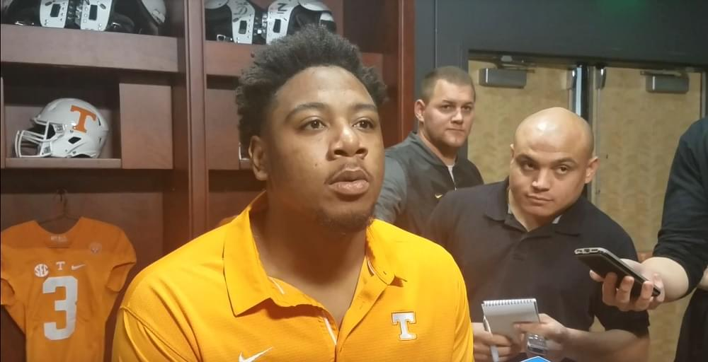 Video: Shy Tuttle talks about wanting to win Vandy game, get to a bowl
