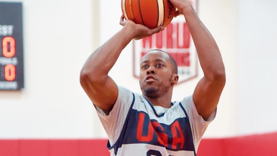 VFL Scotty Hopson in World Cup Qualifying with Team USA
