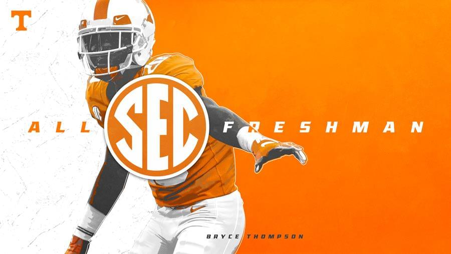 Bryce Thompson Named to SEC All-Freshman Team
