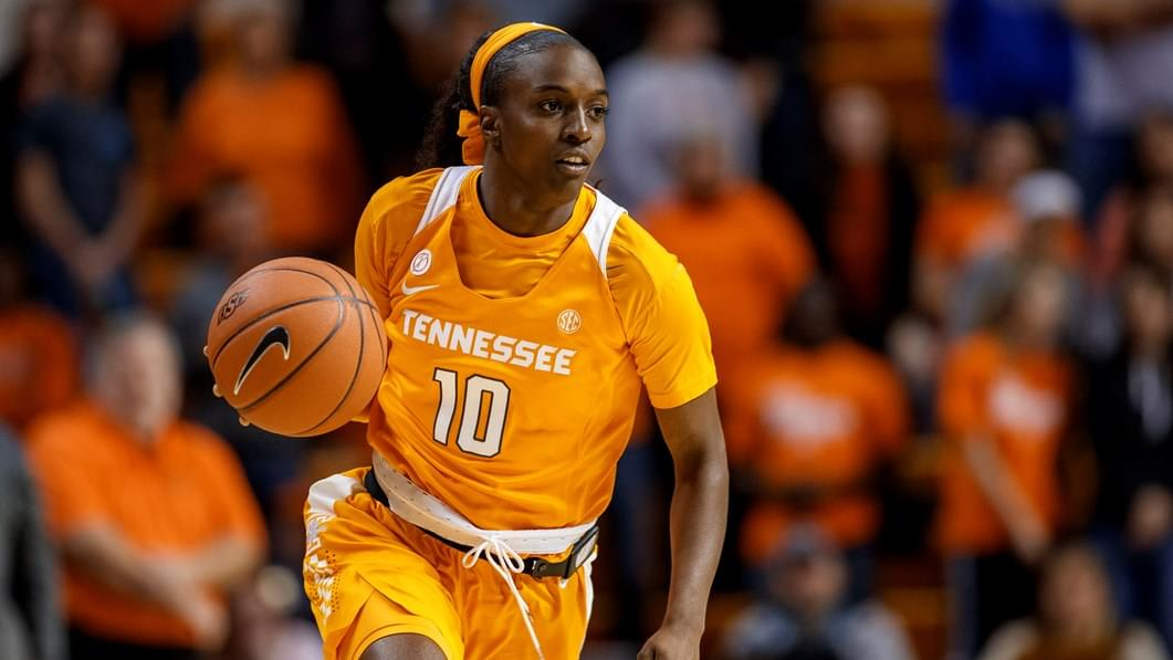 Jackson's Career Day Lifts No. 9 Lady Vols Over No. 12 Texas