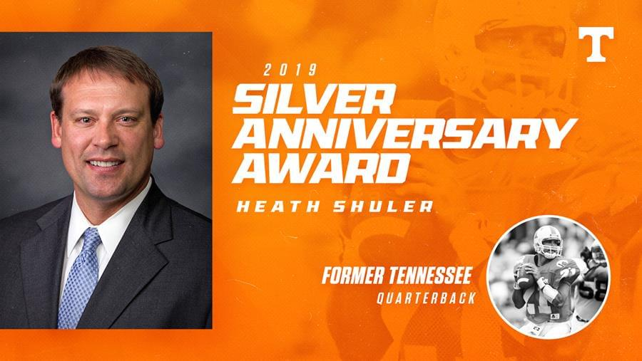 Heath Shuler NCAA Silver Anniversary Award Recipient For 2019