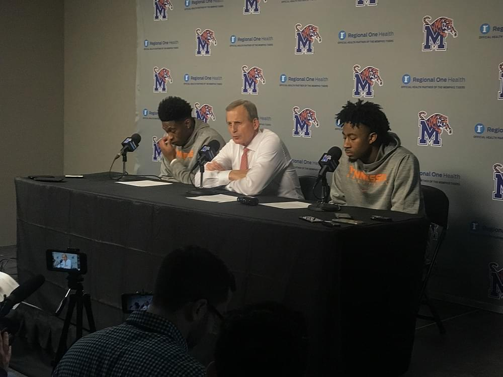 Audio: Rick Barnes sees lots to improve after 102-92 win over Memphis