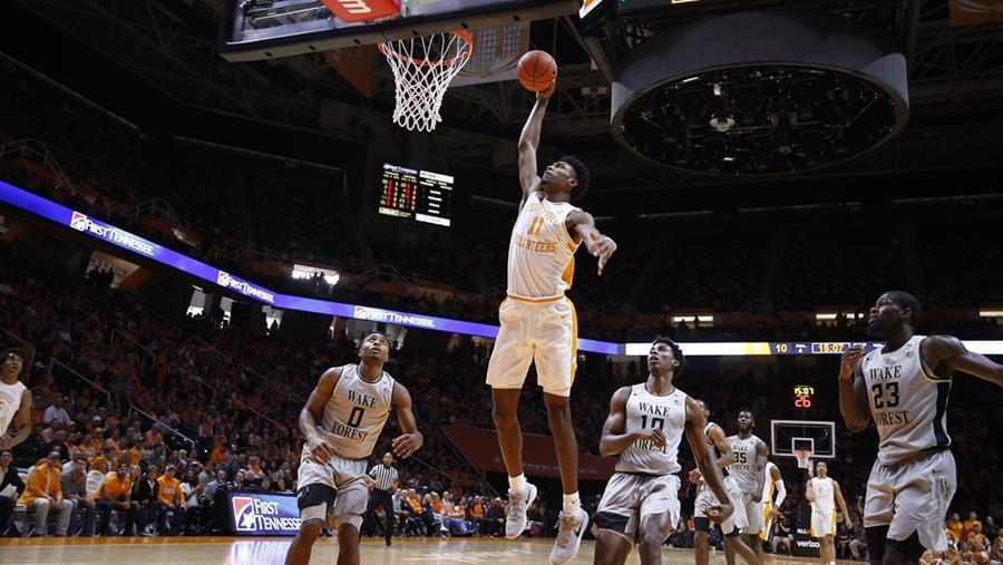 #3 UT Tops Wake Forest, 83-64, Behind Williams' Double-Double
