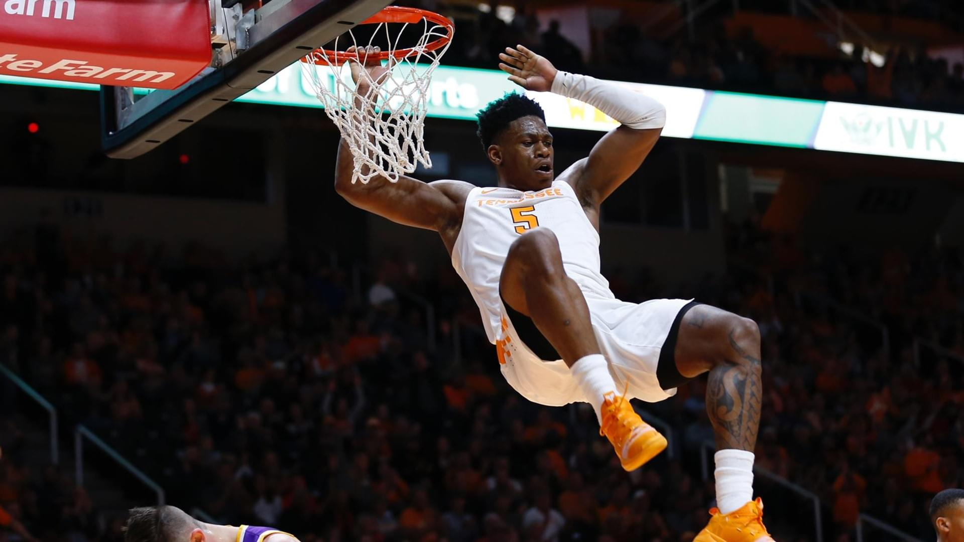 No. 3 Tennessee Powers Past Tennessee Tech, 96-53