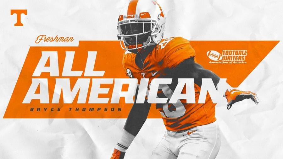 Bryce Thompson Collects FWAA Freshman All-America Honors