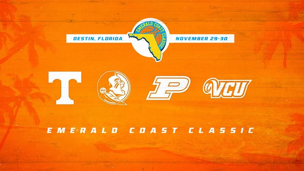 Vols to Play in 2019 Emerald Coast Classic