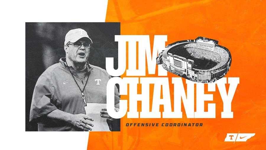 UT Football Hires Jim Chaney as Offensive Coordinator