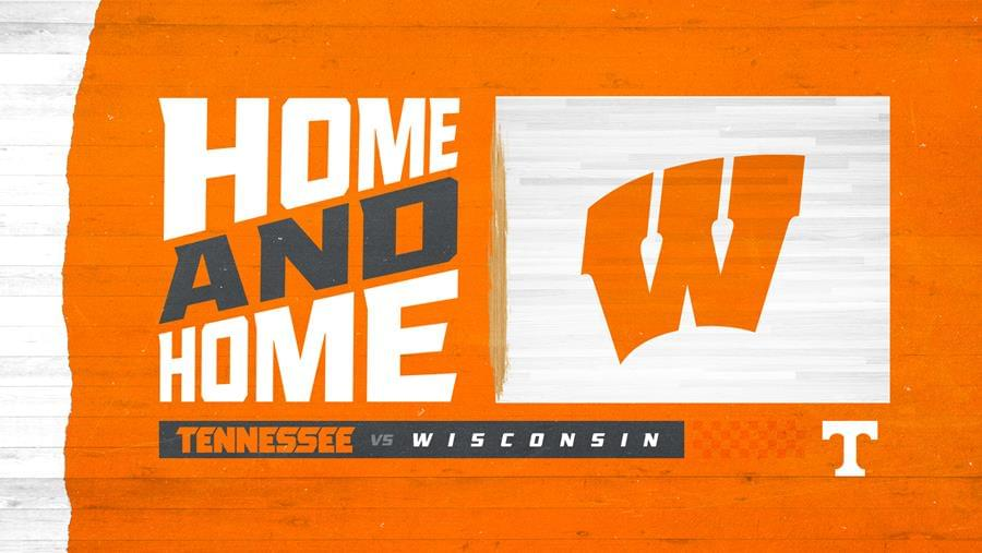 Vols Announce Basketball Series with Wisconsin