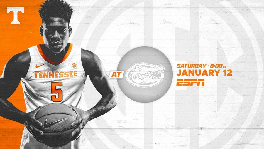 Hoops Preview: #3 Tennessee at Florida