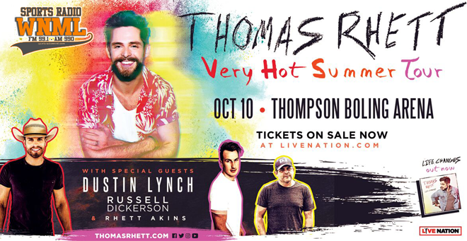Thomas Rhett: Very Hot Summer Tour