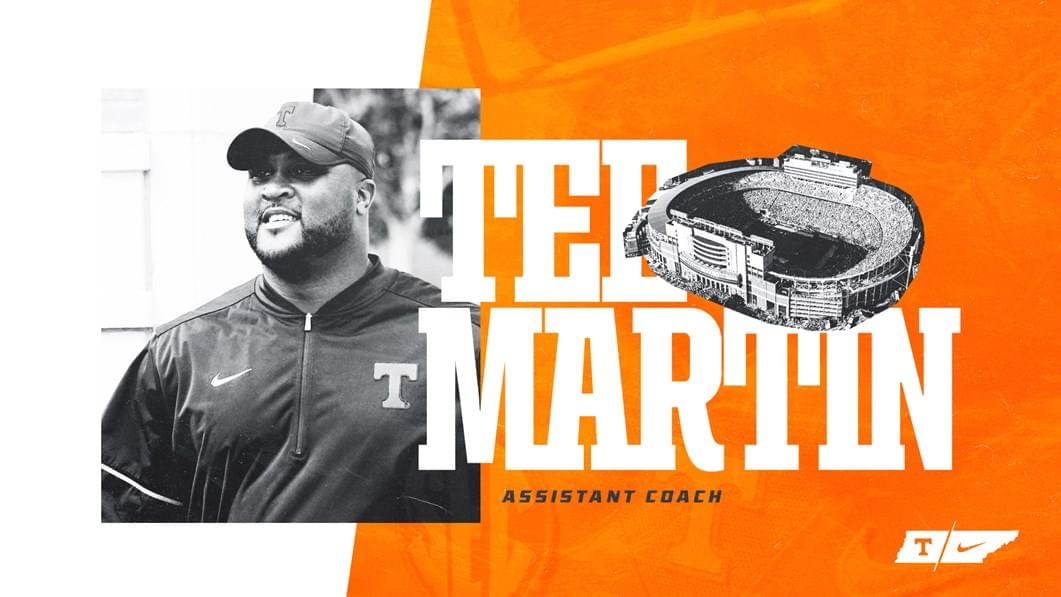 Tee Martin Returns to Rocky Top as Assistant Football Coach