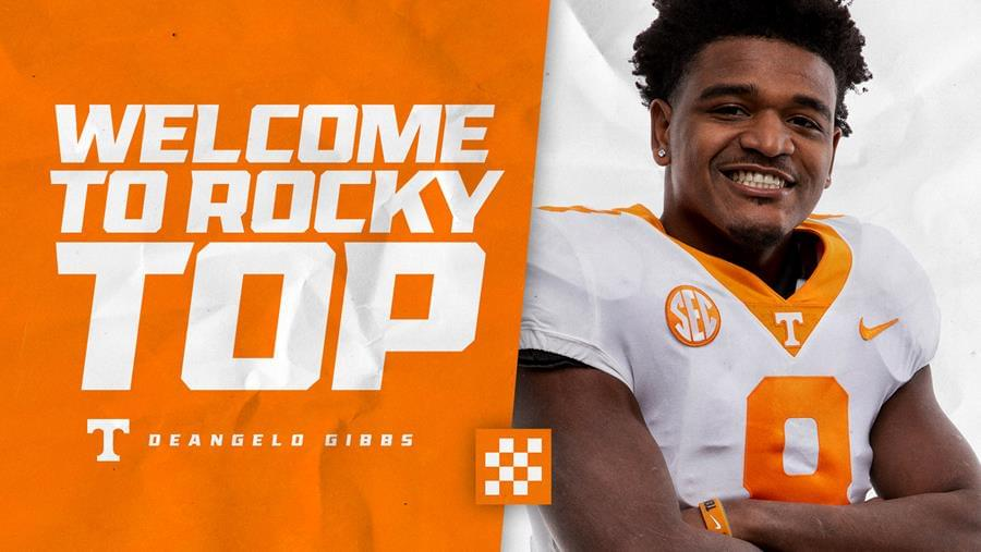 Tennessee Football Adds Transfer Deangelo Gibbs