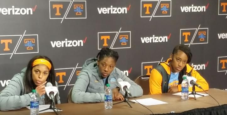 Video: Lady Vols players react to program-high 5th straight loss