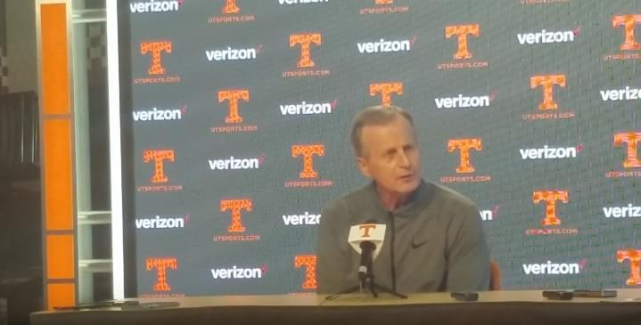 Video: Rick Barnes discusses No. 1 ranking, culture, Vandy and much more