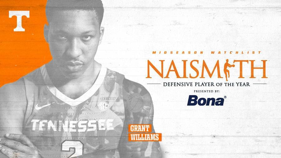 Williams Named to Naismith Defensive Player of the Year Watch List