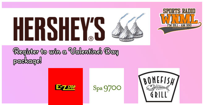 Hershey's Valentine's Day Package