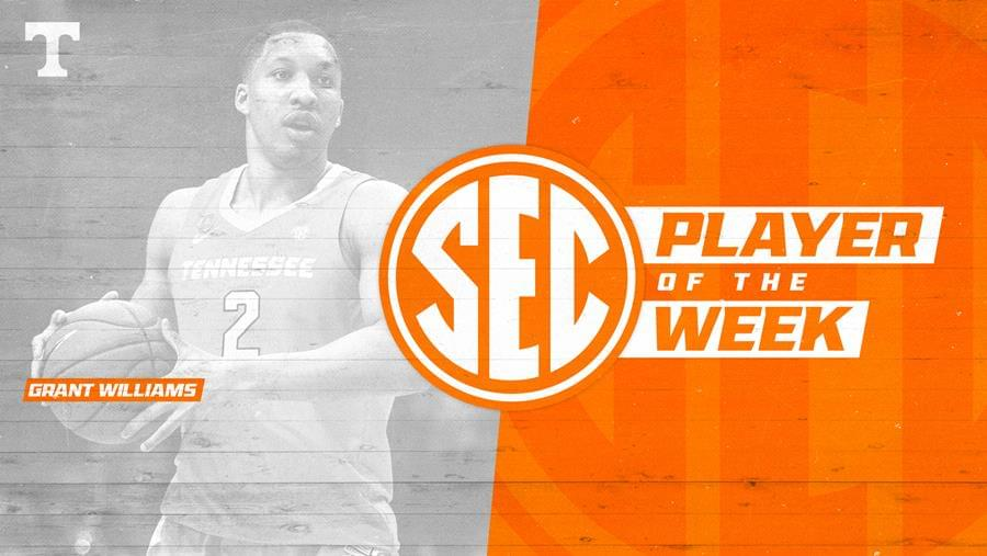 Williams Earns SEC Player of the Week Honors