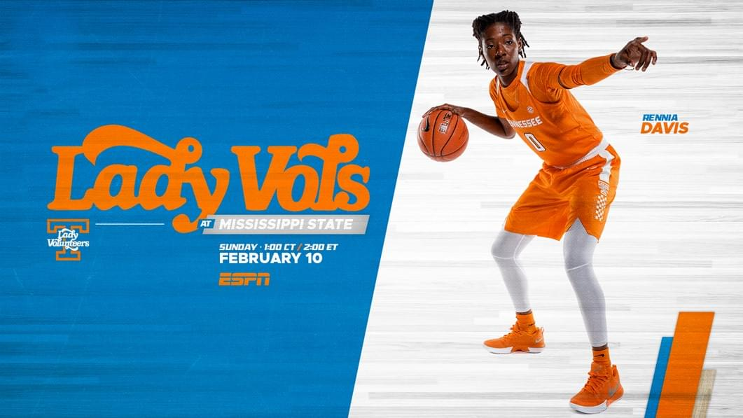 Hoops Preview: Lady Vols at No. 6/6 Mississippi State