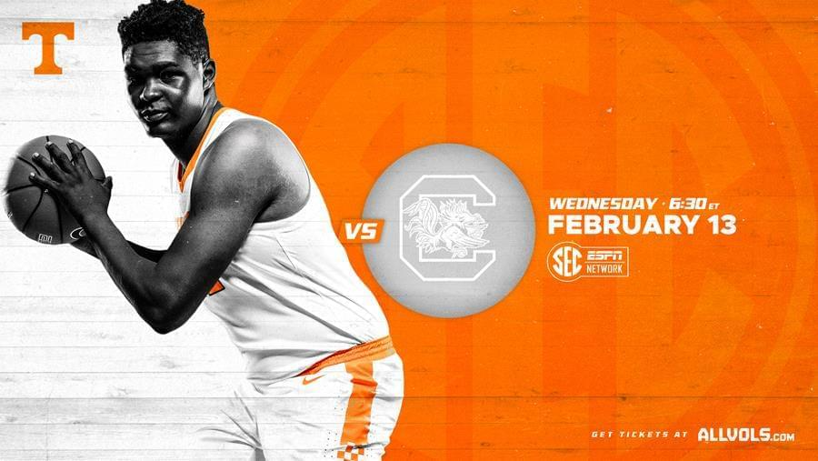 Hoops Preview: #1 Tennessee vs. South Carolina