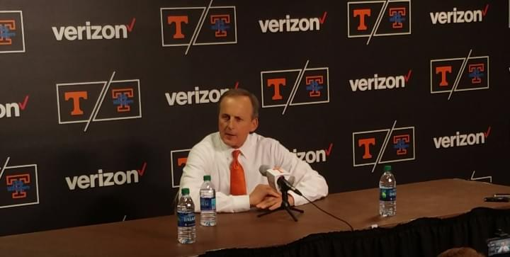 Video: Rick Barnes postgame press conference after SC win