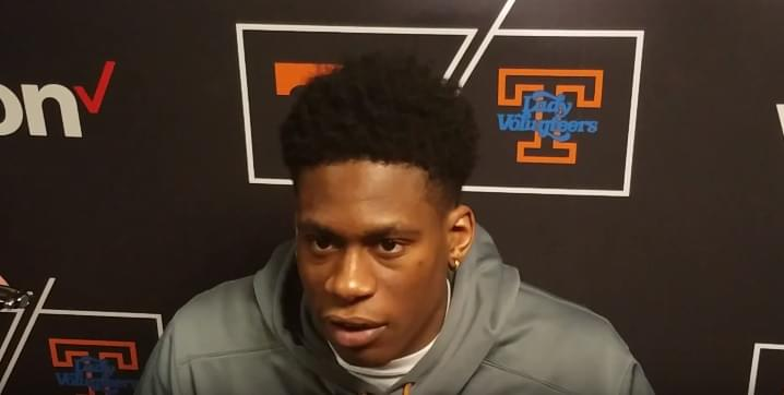 "Video: Admiral Schofield ""That's where I'm excited because our best basketball is ahead of us"""