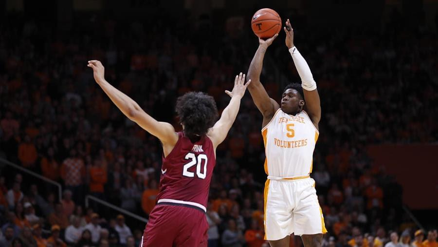 Top-Ranked Vols Complete Season Sweep of South Carolina, 85-73