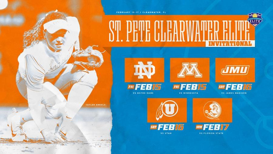 Softball Preview: #6/6 Tennessee at St. Pete/Clearwater Elite Invite