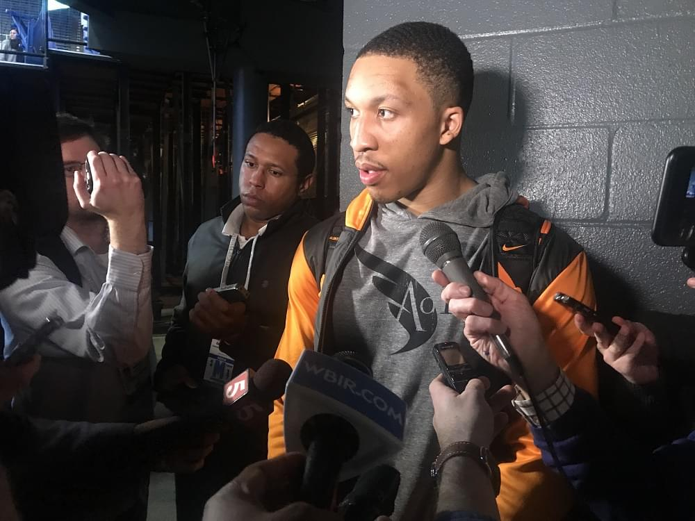 """Audio: Williams postgame """"We were allowing them to bully us. Shows we were phonies tonight."""""""