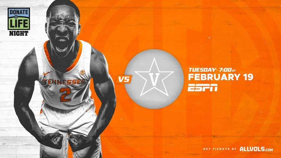 Hoops Preview: #5 Tennessee vs. Vanderbilt