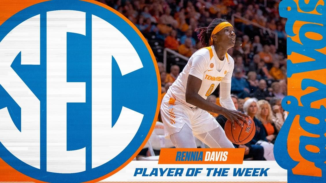 Davis Named SEC WBB Player of The Week