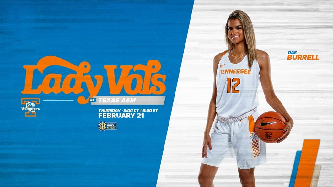 Hoops Preview: Lady Vols at No. 21/22 Texas A&M