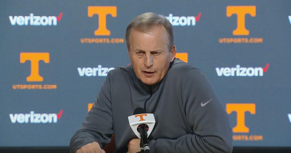 Video: Rick Barnes talks officiating and mistakes from LSU loss, previews Ole Miss