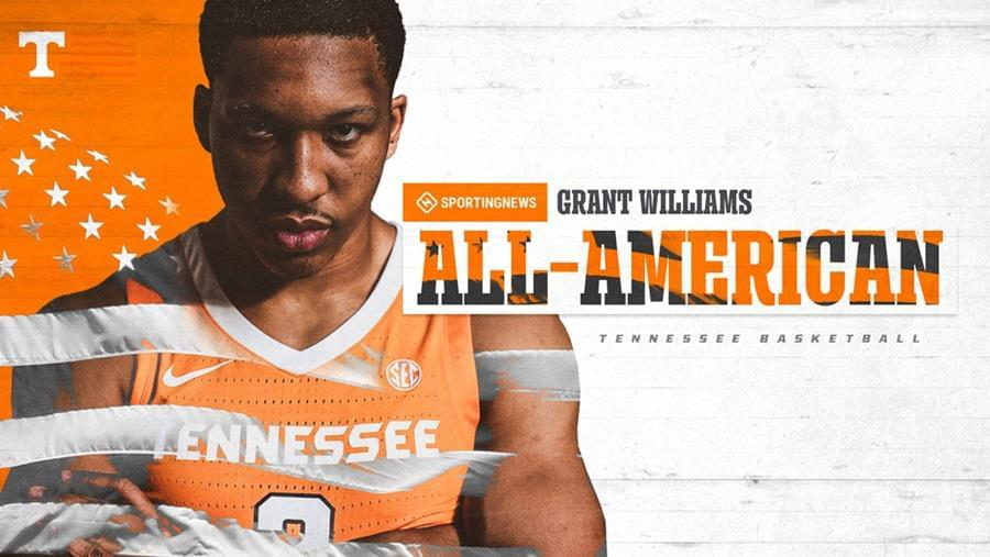 Williams Tabbed First-Team All-American by Sporting News