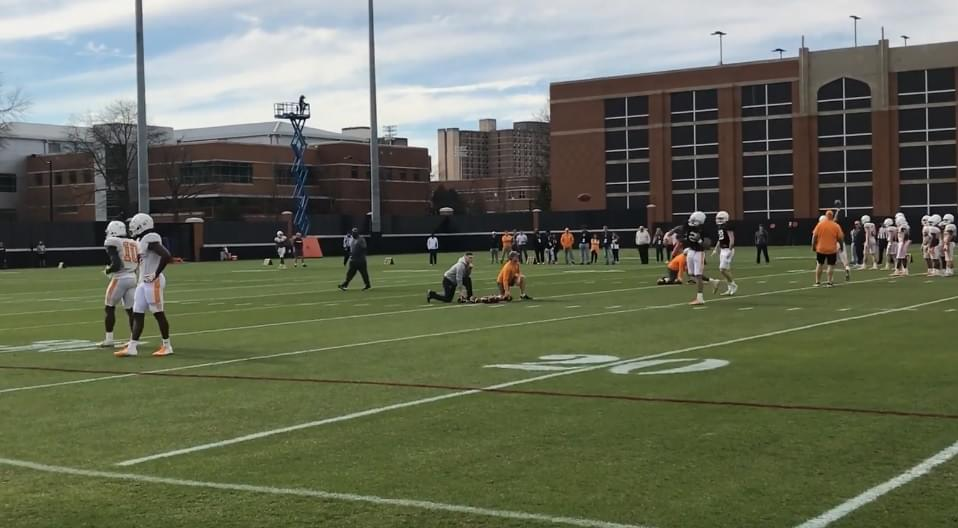 Video: A Look Into Tennessee Football Spring Practice 3
