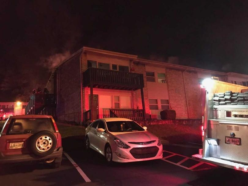 8 Displaced After Apartment Fire in South Knoxville