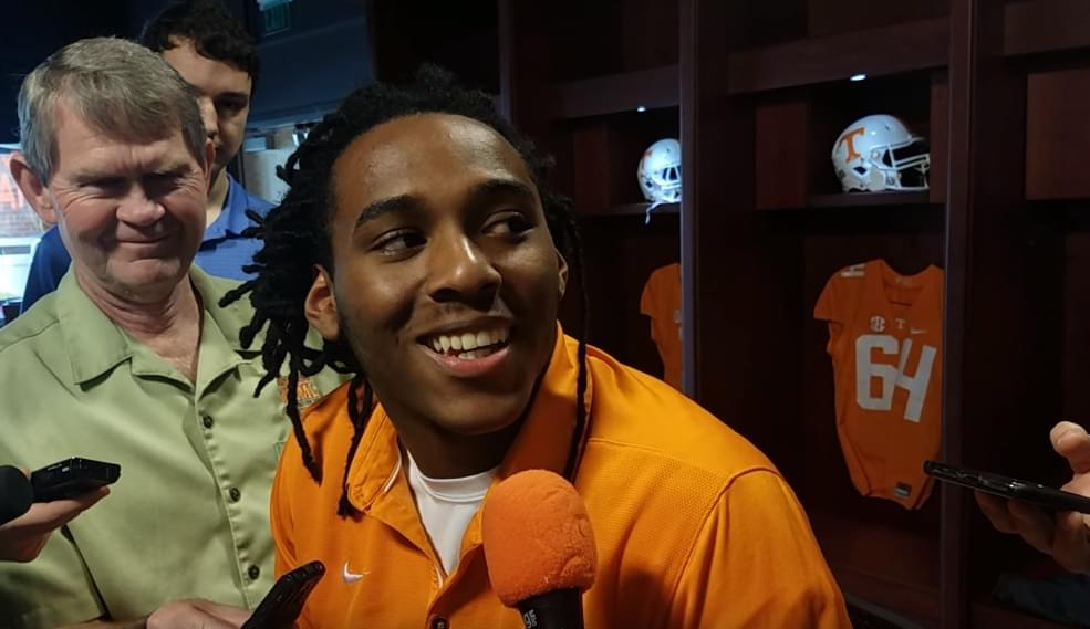 "Video: Marquez Callaway on Tee Martin's return ""It's everything you would expect. It's exciting to have him back."""
