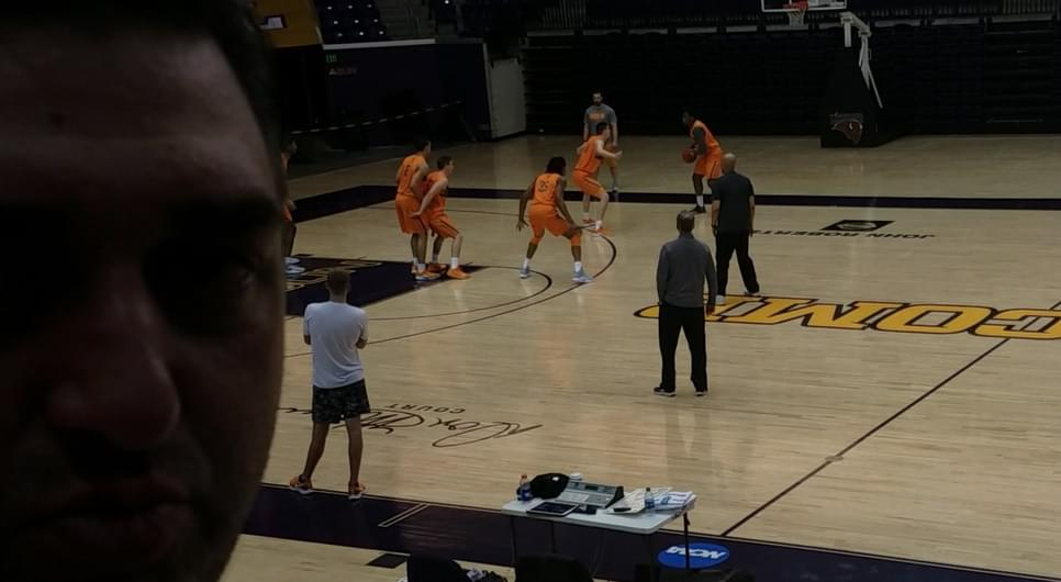 Video: Check-in at Tennessee Basketball SECT Practice