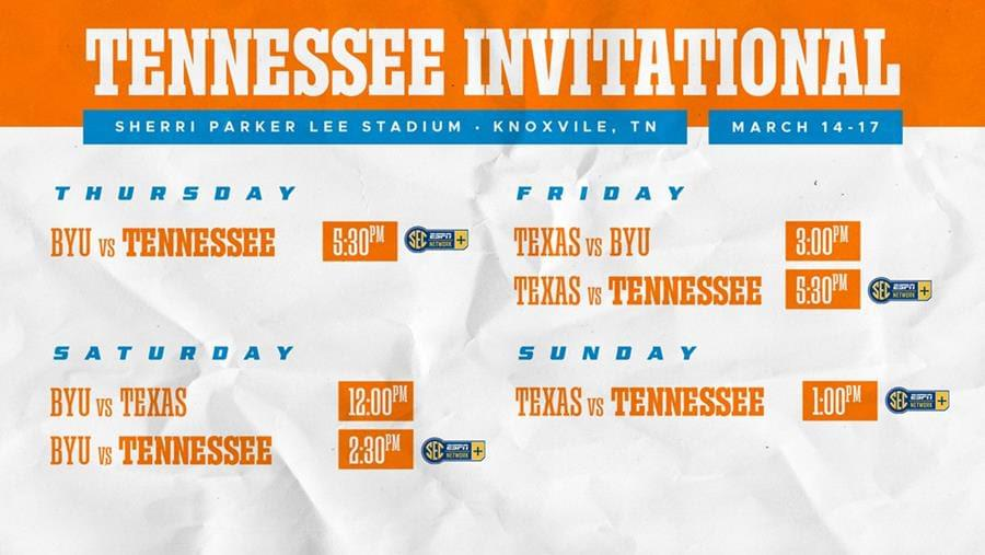 Softball Preview: Tennessee Invitational