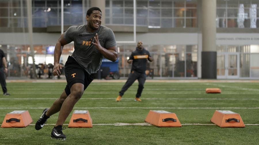 Phillips, Tuttle Highlight Tennessee's Annual Pro Day
