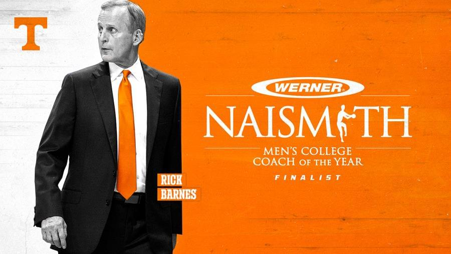 Barnes Selected as Finalist for Werner Ladder Naismith Coach of the Year