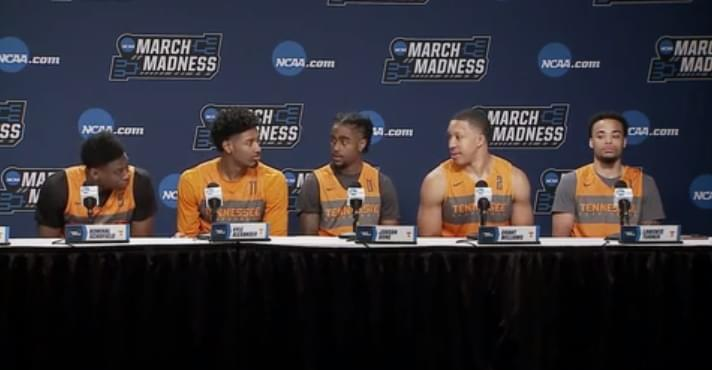 Video: Vols starters and Rick Barnes preview 1st Rd game vs. Colgate at NCAA press conference