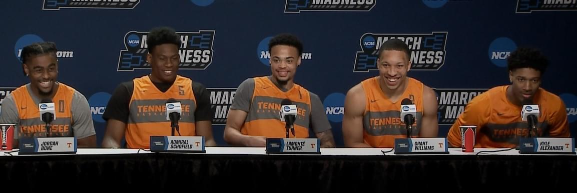Video: UT starters and Rick Barnes at NCAA Press Conference previewing Iowa