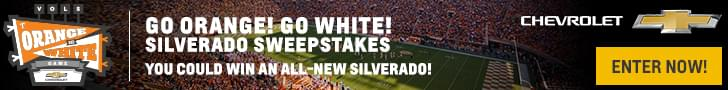 Go Orange! Go White! Silverado Sweepstakes