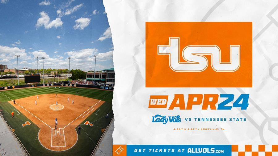 Lady Vols to Host Tennessee State in Doubleheader on April 24th