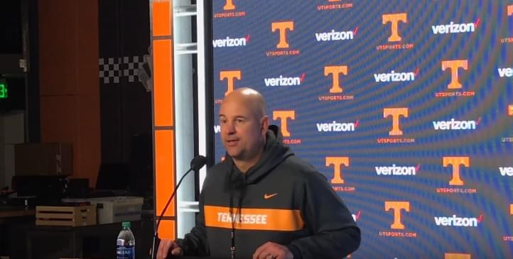 "Video: Pruitt on Trey Smith appearing to do contact drills ""He's not doing any contact drills"""