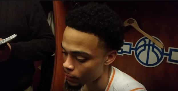 "Video: Lamonte Turner postgame ""We weren't playing loose. We were playing too uptight."""