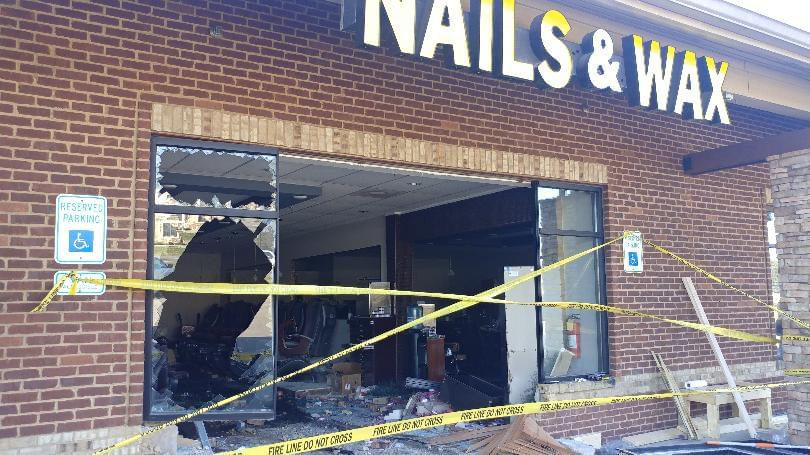 "Witness: ""Thought the Building had Exploded"" After Truck Hits Salon"
