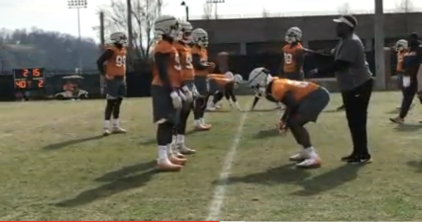 VIDEO: 2019 Tennessee Football Spring Practice #8 (3.29.19)