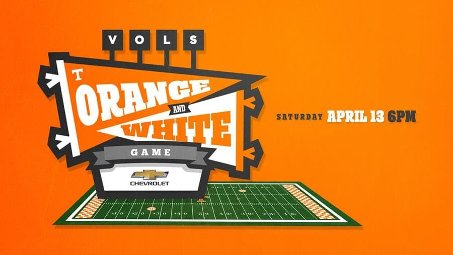 Chevrolet Orange and White Game Highlights 'All Vol Weekend'