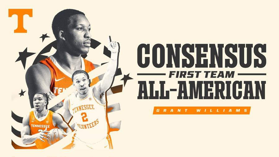 Williams Named Unanimous Consensus First-Team All-American